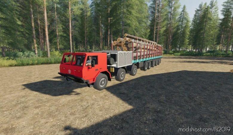 Tatra 16X16 LES for Farming Simulator 19