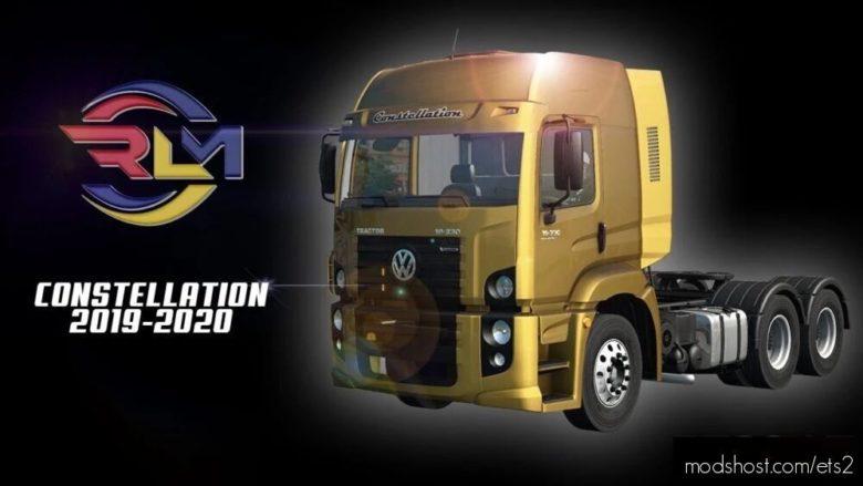 VW Constellation 2019 – 2020 [1.40] for Euro Truck Simulator 2