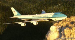 AIR Force ONE VC-25B Ultra [NO Mirroring] V1.0.1 for Microsoft Flight Simulator 2020