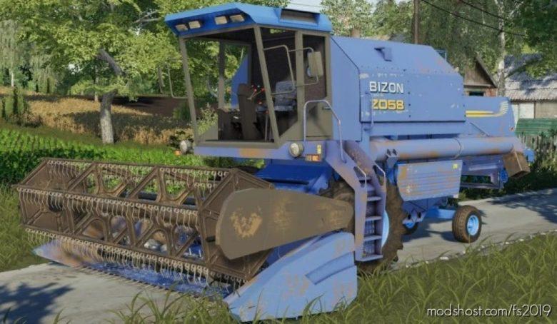 Bizon Rekord Z058 V1.1 for Farming Simulator 19