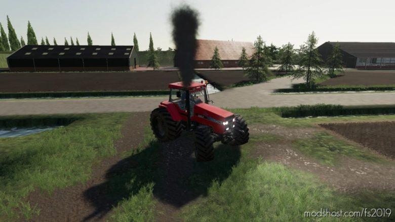 Case 7250 With Smoke for Farming Simulator 19
