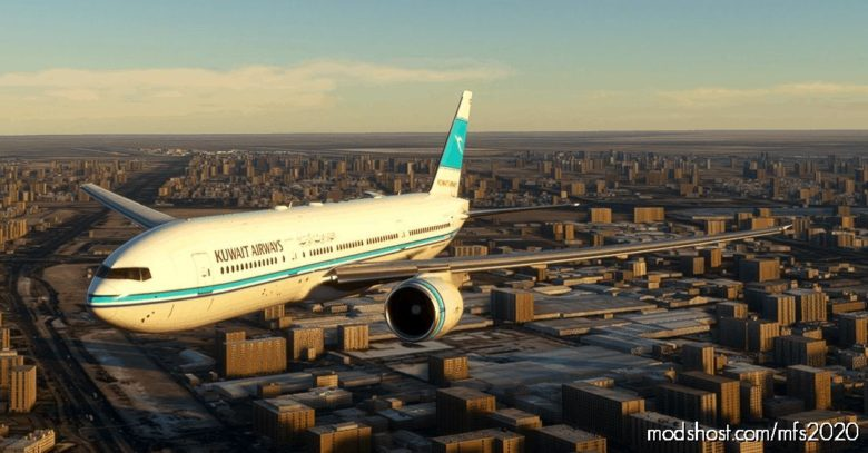 [CS 777-200ER] Kuwait Airways for Microsoft Flight Simulator 2020