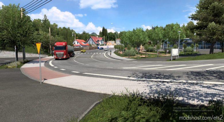 Southern Poland V1.3 for Euro Truck Simulator 2