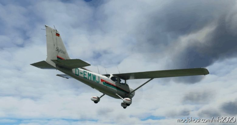 Cessna 172 AS1000 Livery – D-Emwj for Microsoft Flight Simulator 2020