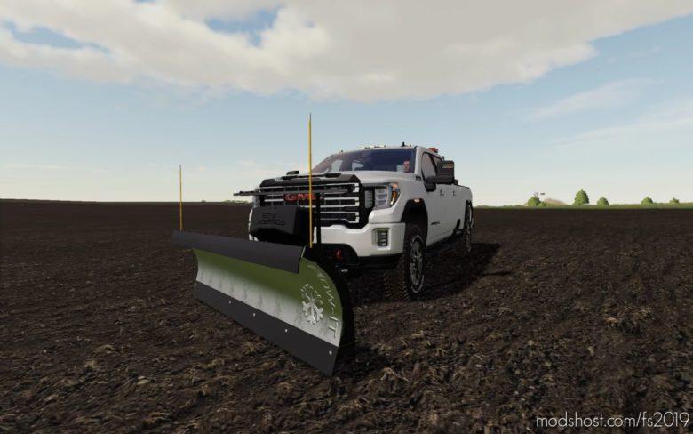 2020 GMC 2500 AT4 for Farming Simulator 19