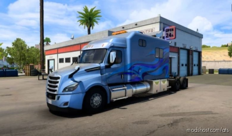 Freightliner Cascadia Legacy Sleeper V2.85 for American Truck Simulator
