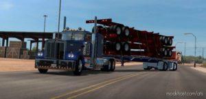 The Custom Wilson Flatbed [1.40] for American Truck Simulator