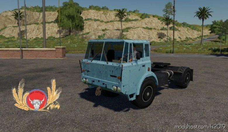 Tatra T813 4X4 NT for Farming Simulator 19