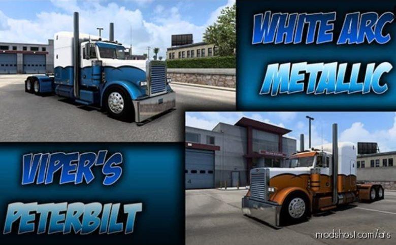 White ARC Metallic for American Truck Simulator