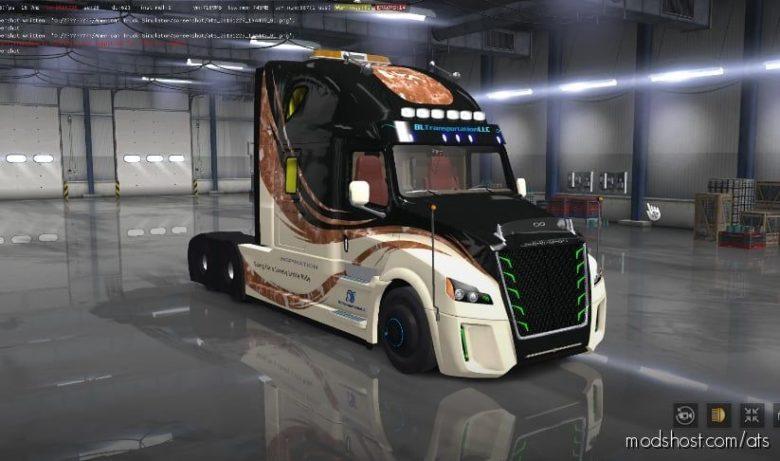 Freightliner Inspiration V1.2 [1.40] for American Truck Simulator