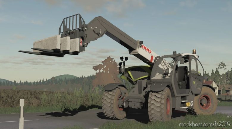 Claas Scorpion 7055 for Farming Simulator 19