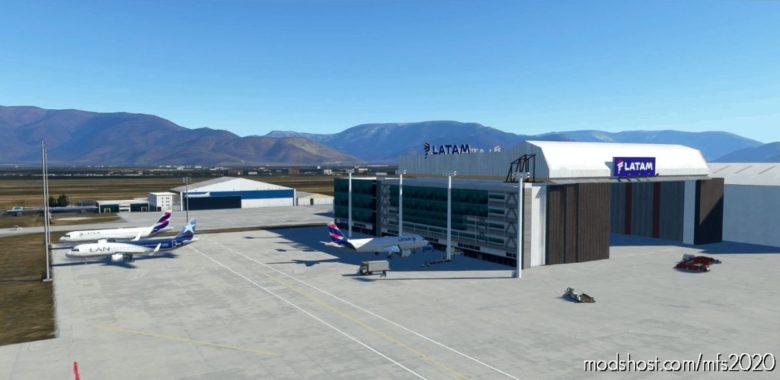 Scel OLD Generation 3D Building Replace for Microsoft Flight Simulator 2020