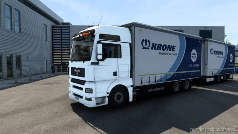 Tandem Krone MAN Tga/Tgx/Tgx E6 (Madster) [1.40] for Euro Truck Simulator 2