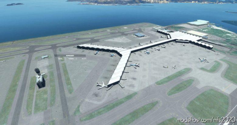 [Hkg/Vhhh] Hong Kong International Airport for Microsoft Flight Simulator 2020