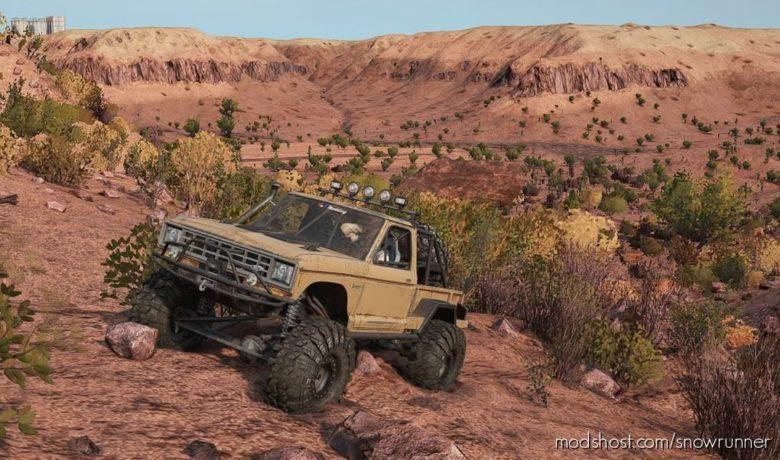 The Desert Crawler V for SnowRunner
