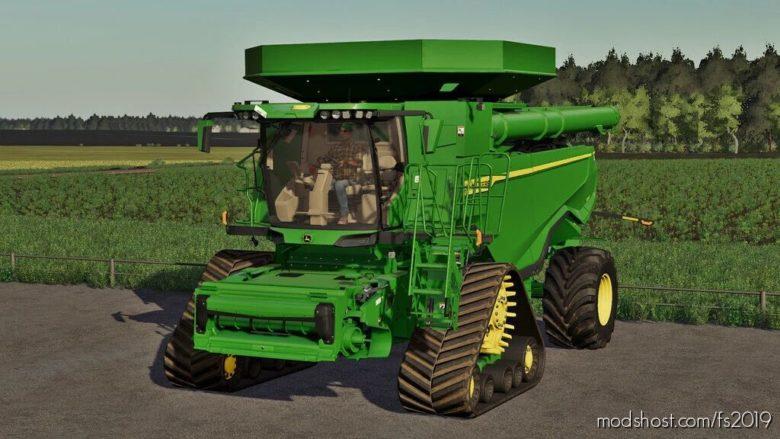 John Deere X9 2020 US And EU Version V1.0.0.1 for Farming Simulator 19
