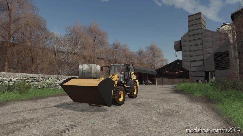 JCB Telehandler Attachments V1.0.0.1 for Farming Simulator 19