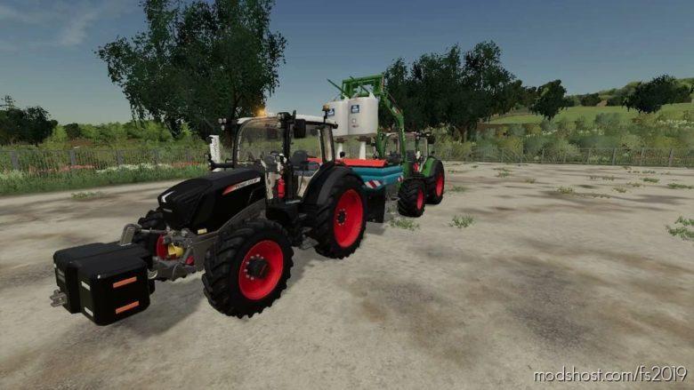 Fendt 300 Vario ONE for Farming Simulator 19