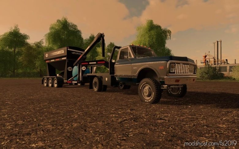 C30 71 Chevy Flatbed for Farming Simulator 19
