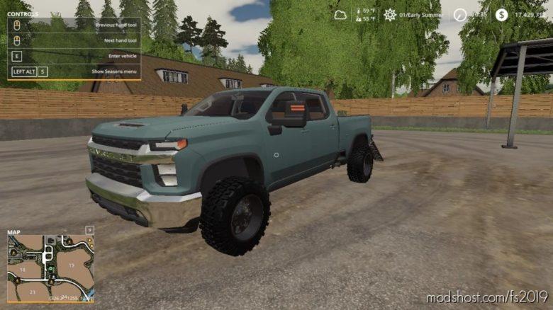 2020 Chevy Silverado 2500HD for Farming Simulator 19