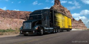 RD Movind VAN Trailer [1.40] for American Truck Simulator