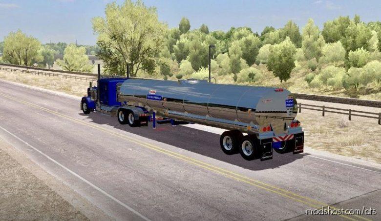 Rubberduck Tanker Trailer [1.40] for American Truck Simulator