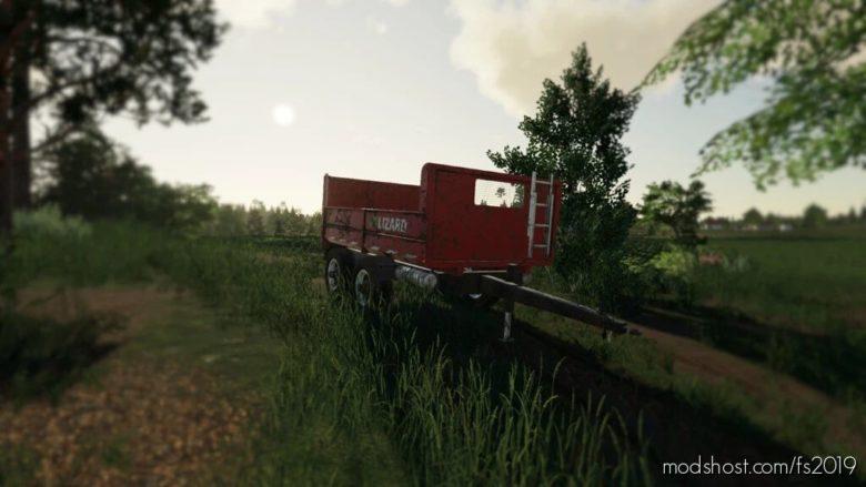 Lizard Dump Trailer for Farming Simulator 19