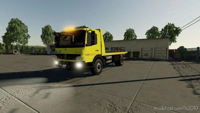 Mercedes Benz Atego V2.0 for Farming Simulator 19