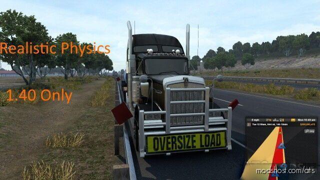 Trainguy's Physics Mod V2.6 [1.40] for American Truck Simulator