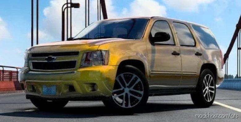 Chevrolet Tahoe 2007 V3.0 – NEW Upload – [1.40] for American Truck Simulator