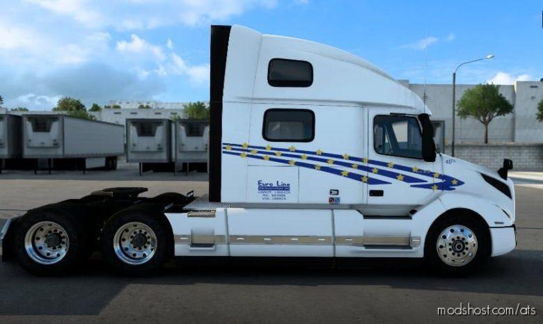 Euro Line Skin for American Truck Simulator