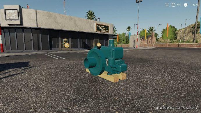 OLD Diesel Engine for Farming Simulator 19