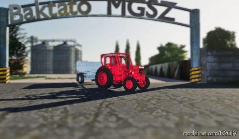 Baktatófalva Pajkaszeg Map for Farming Simulator 19