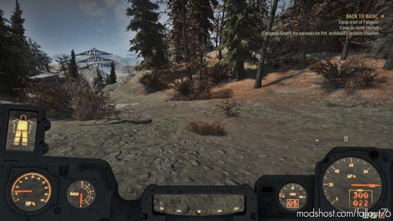 Power Armor HUD – Full Vignette for Fallout 76