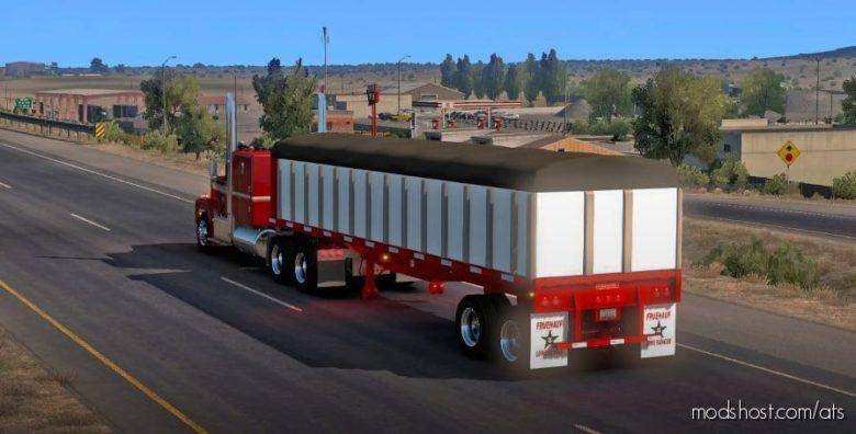 Fruehauf Flatbed [1.40] for American Truck Simulator