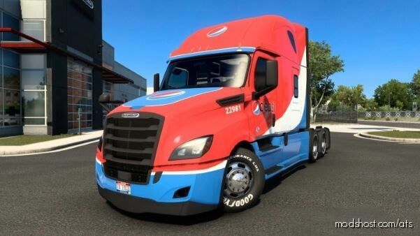 Freightliner Cascadia Pepsi Edition [1.40.X] for American Truck Simulator
