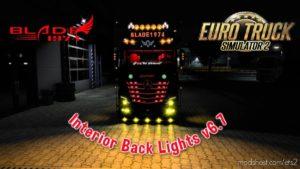 Interior Back Lights V6.7 for Euro Truck Simulator 2