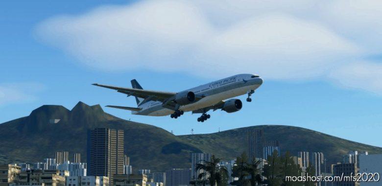 [CS777] Cathay Pacific B-Kpq [4K] for Microsoft Flight Simulator 2020