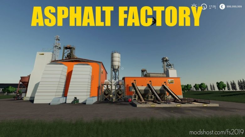 Asphalt Factory for Farming Simulator 19