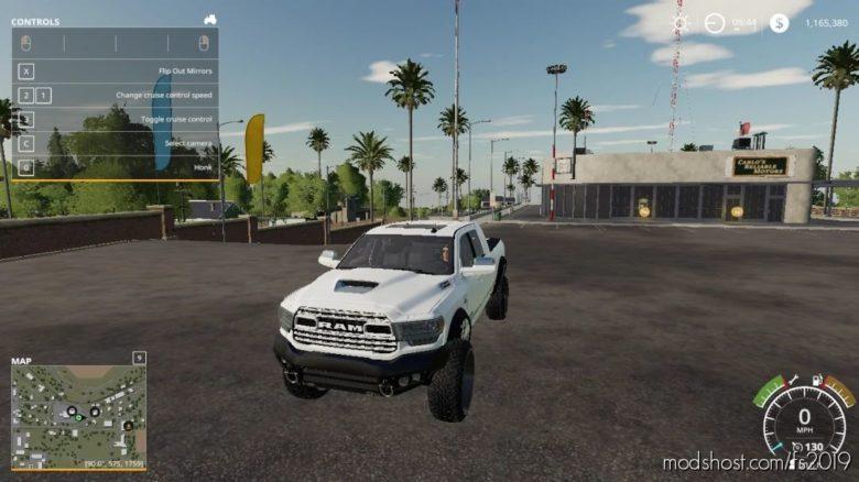 Dodge RAM Mega CAB for Farming Simulator 19