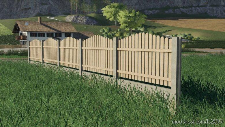 Pack Of OLD Fence Homemadde for Farming Simulator 19