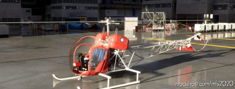 Bell 47G2 Royal AIR Force XT138 V1.1 for Microsoft Flight Simulator 2020