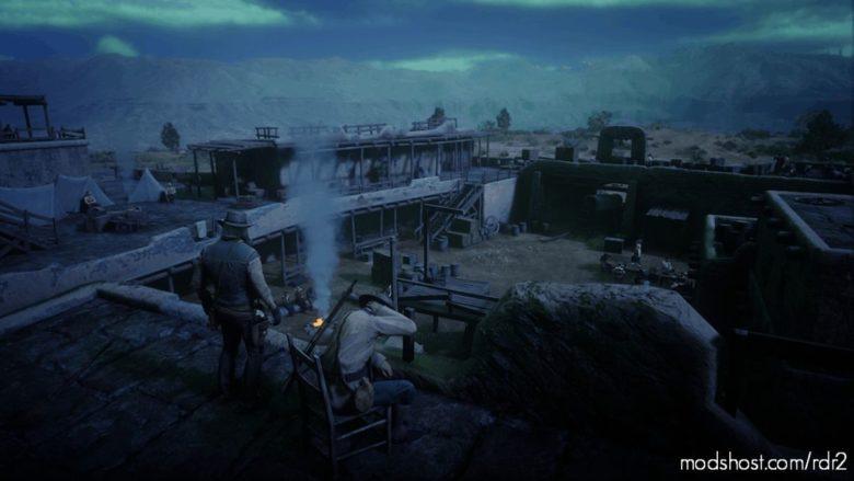 Fort Mercer Undead Nightmare for Red Dead Redemption 2