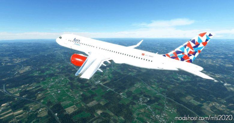 A320Neo Aura Airlines for Microsoft Flight Simulator 2020
