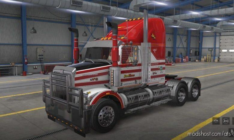 Western Star 4800 Stocktrans Skin for American Truck Simulator