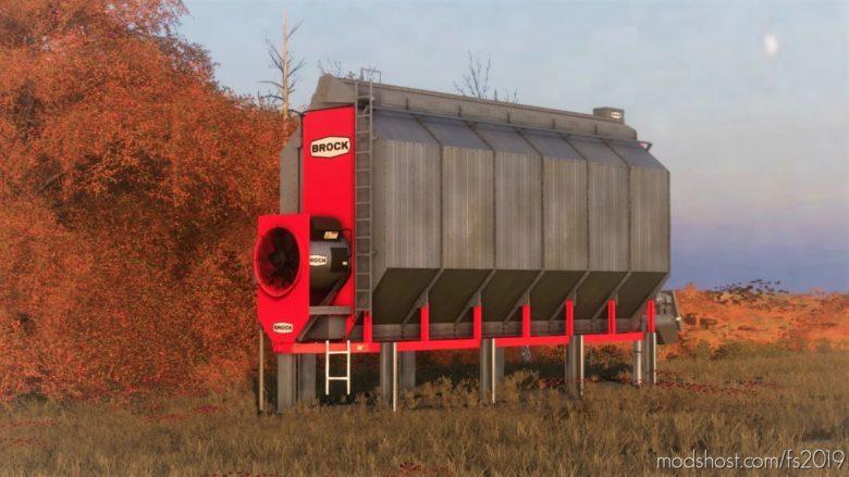 Brock Corn Dryer V1.1 for Farming Simulator 19