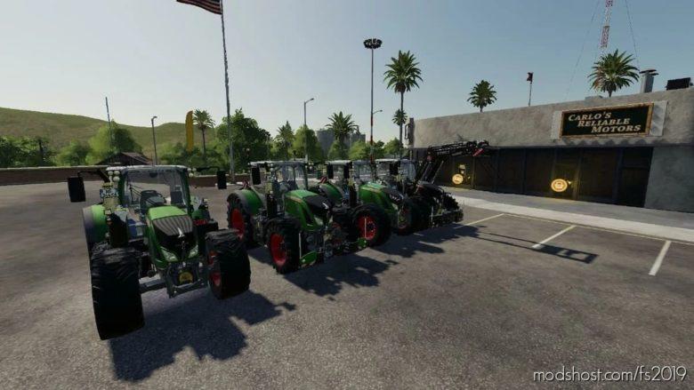 Fendt 700 ONE for Farming Simulator 19