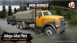 Realistic Graphics Adega Mod Pack V4.4 + SP for MudRunner