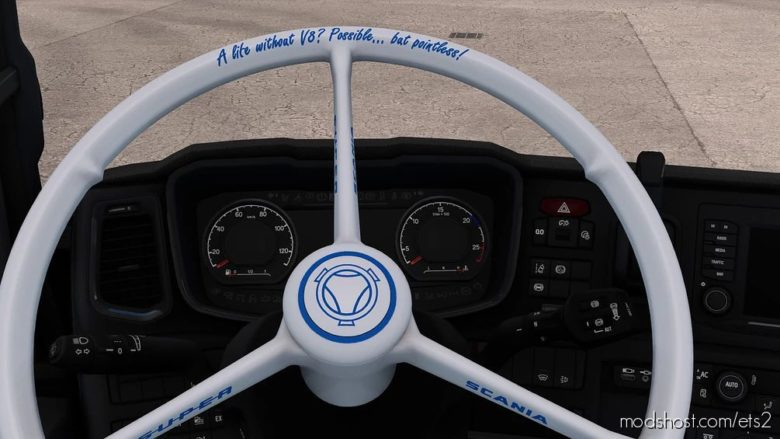 Scania Vabis Steering Wheels [1.40] for Euro Truck Simulator 2