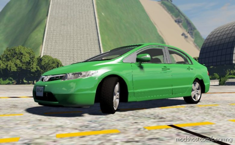 Honda Civic 2000 REMASTERED for BeamNG.drive